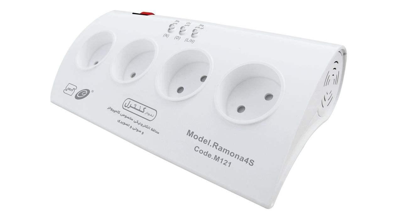 محافظ ولتاژ الکترونیکی نمودار کنترل مدل رامونا M121
