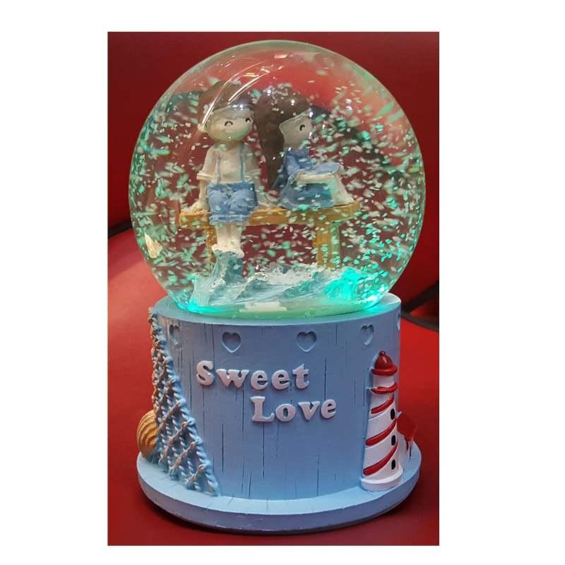 گوی موزیکال پمپی مدل sweet love