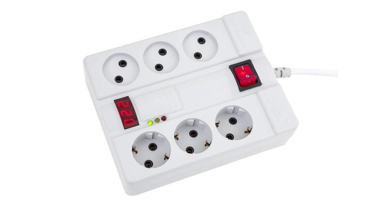 چندراهی برق و محافظ پارت الکتریک مدل PE2060