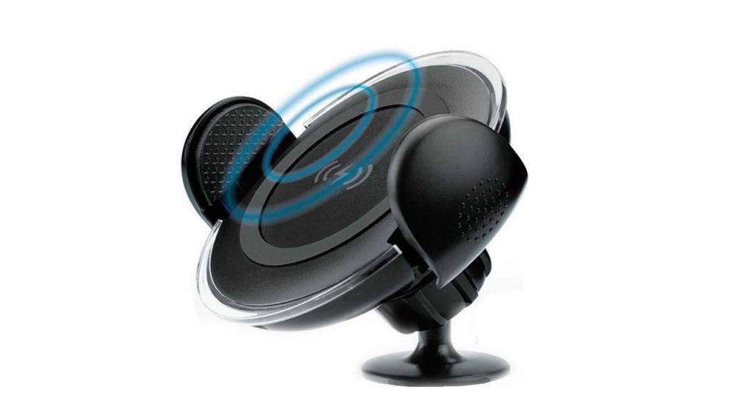 پایه نگهدارنده و شارژر بی سیم گوشی موبایل مومکس مدل Cm8