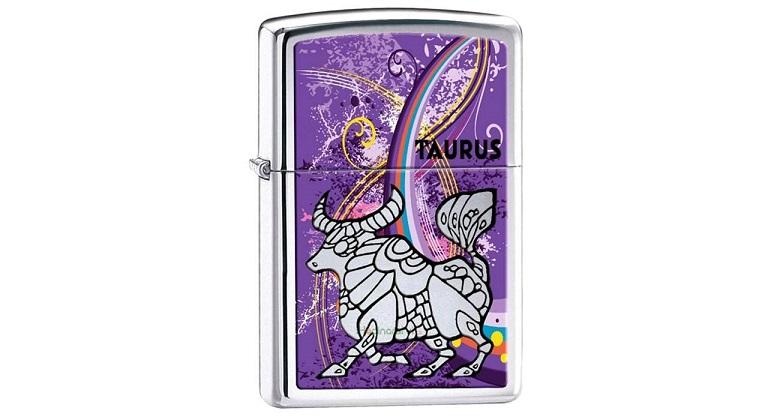 فندک زیپو مدل Zodiac Taurus
