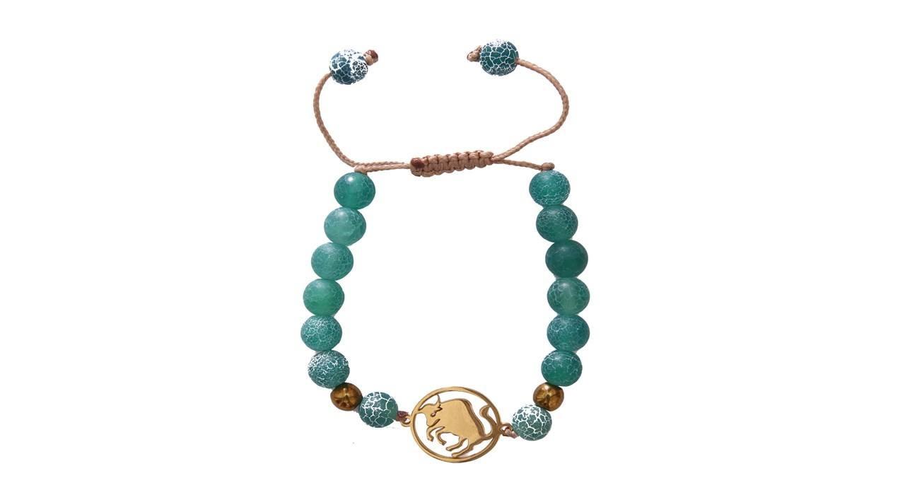 دستبند نوژین مدل اردیبهشت سبز