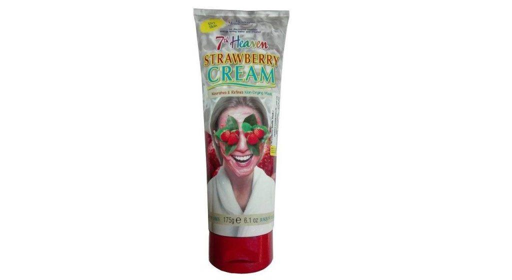 ماسک صورت مونته ژنه سری 7th Heaven مدل Strawberry Cream حجم 175میلی لیتر