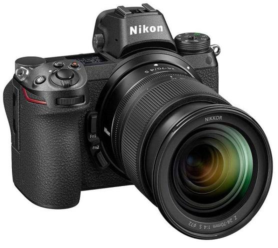 دوربین دیجیتال بدون آینه نیکون مدل Z6 به همراه لنز 24-70 میلی متر f/4 S