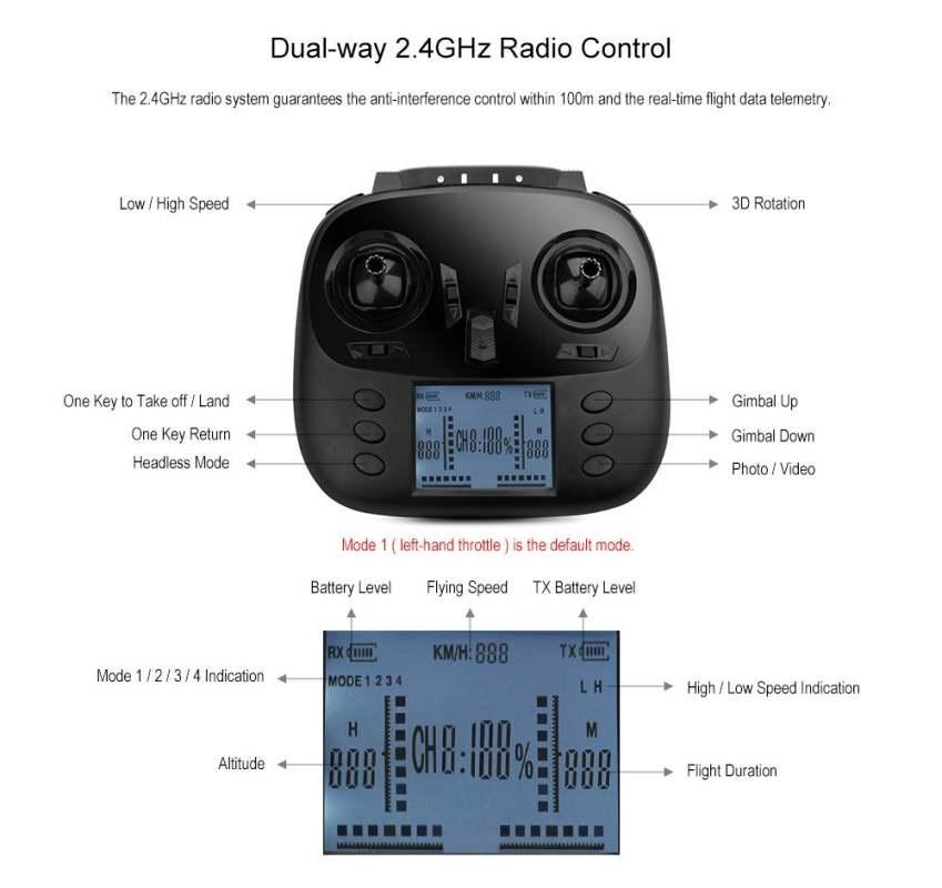 کوادکوپتر دبلیو ال تویز مدل Q393