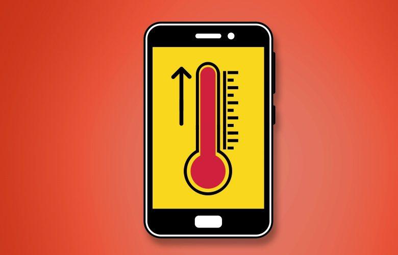 چرا گوشی داغ می کند