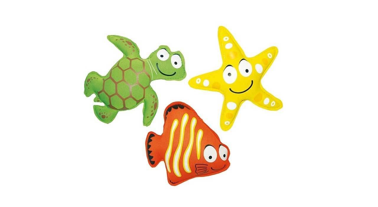 بازی روی آب طرح حیوانات مجموعه 3 عددی