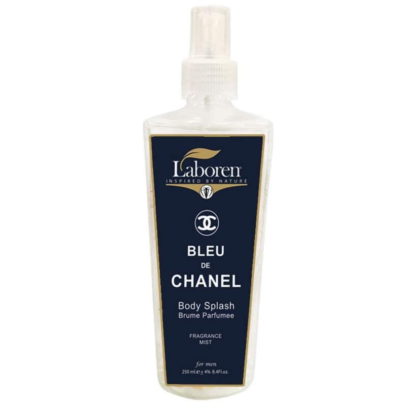 بادی اسپلش بلو شنل لابورن مدل Blue Chanel حجم 250 میلی لیتر