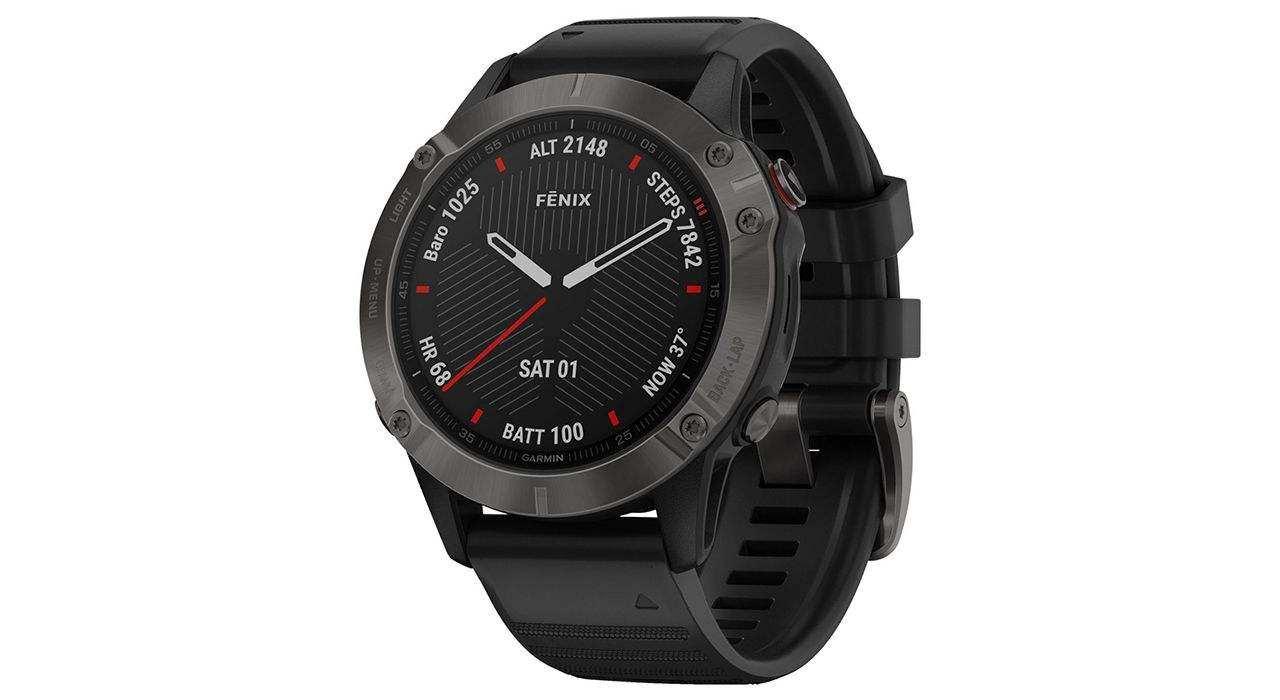 ساعت مچی هوشمند گارمین مدل FENIX 6 010-02158-11