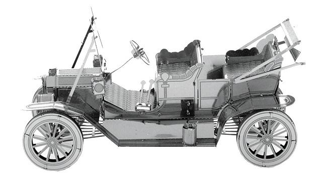 پازل فلزی سه بعدی مدل Vintage Car