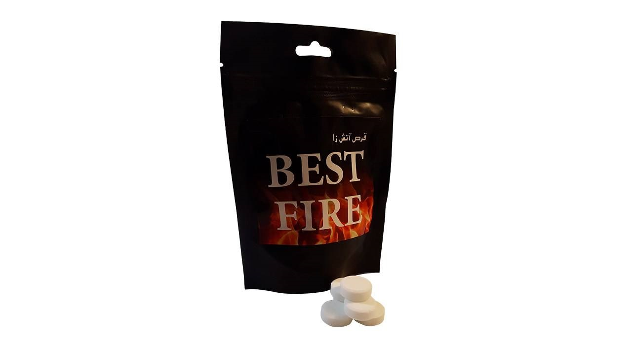 قرص جامد الکل مدل Best Fire بسته 20 عددی