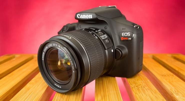 Photo of بررسی دوربین کانن مدل EOS Rebel T6