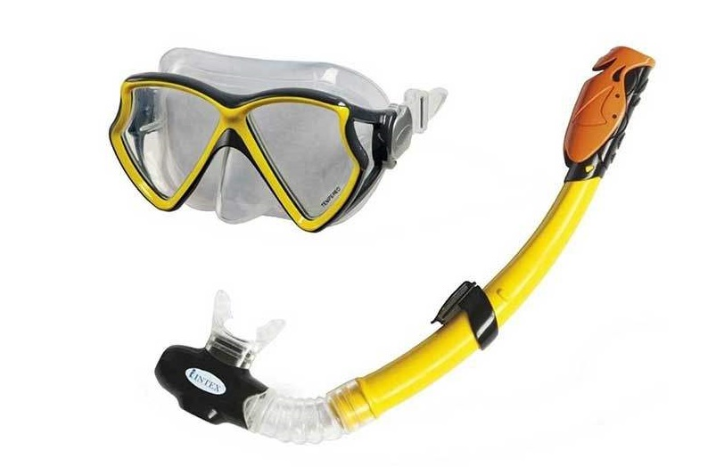 ماسک و اسنورکل شنا اینتکس مدل 55960