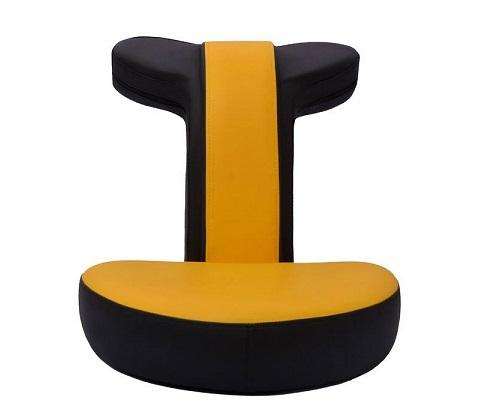 صندلی گیمینگ رادسیستم مدل زرد G010 چرمی