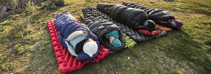 بهترین زیراندازهای کیسه خواب