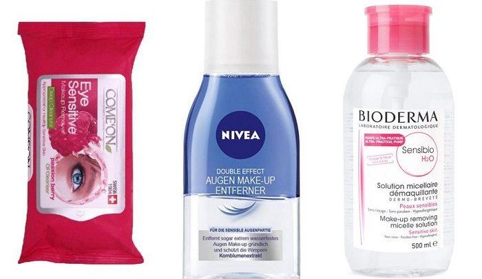 معرفی 5 محصول خوب برای پاک کردن آرایش چشم