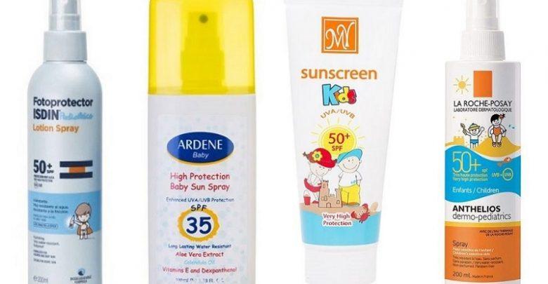 بهترین ضد آفتاب کودکان