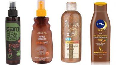 Photo of بهترین محصولات برنزه کردن پوست با آفتاب
