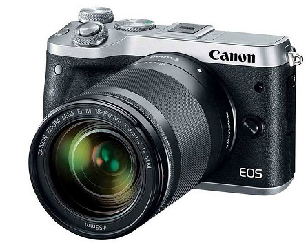 دوربین دیجیتال بدون آینه کانن مدل EOS M6 به همراه لنز 18-150 میلی متر IS STM