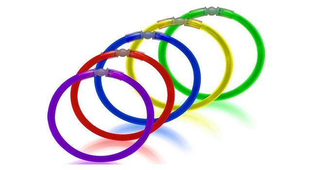 دستبند شب تاب بانیبو مدل Glow Stick بسته 50 عددی