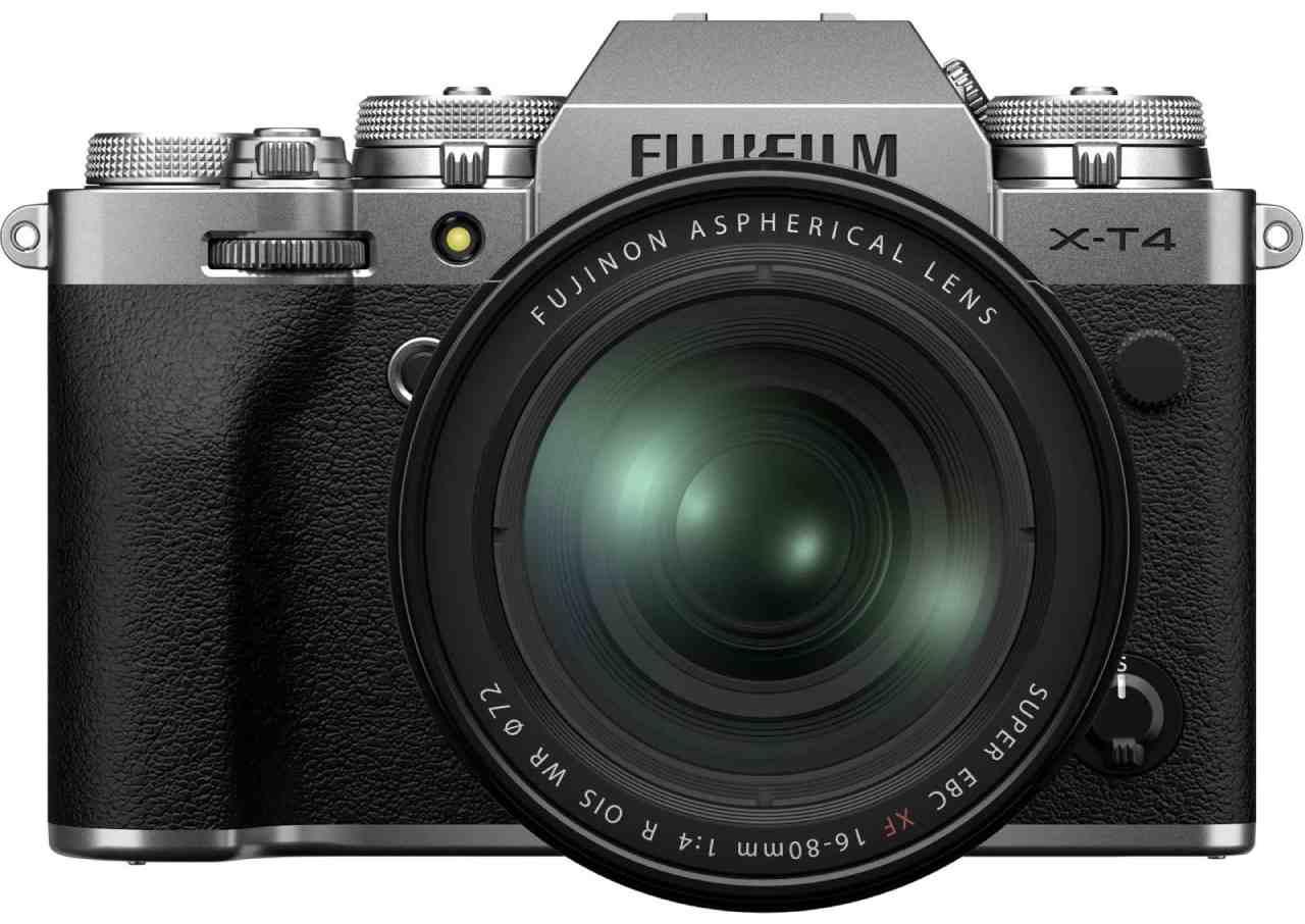 دوربین دیجیتال بدون آینه فوجی فیلم مدل X-T4 به همراه لنز 18-55 میلیمتر