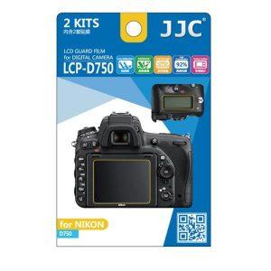 محافظ صفحه نمایش دوربین جی جی سی مدل LCP-D750 مناسب برای دوربین نیکون D750 مجموعه 4 عددی