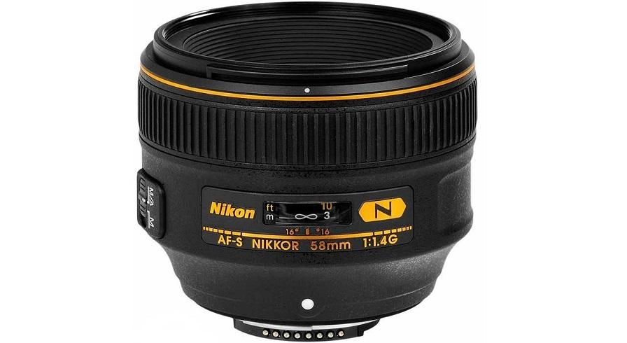 لنز نیکون مدل AF-S Nikkor 58mm f/1.4G