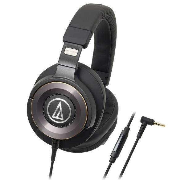 Audio-Technica ATH-WS1100iS Solid Bass Over-Ear Headphones