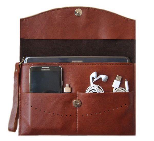 کیف تبلت چرم طبیعی مژی مدل TA8 مناسب برای تبلت های 8 اینچ