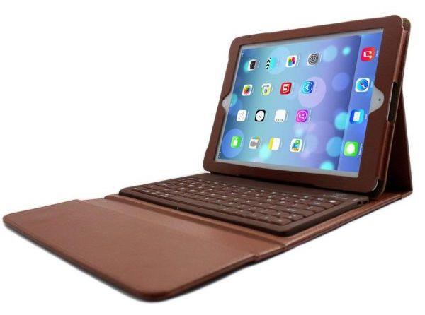 کیف کیبورد چرمی وی کی پروداکتس مدل Smart مناسب برای تبلت اپل iPad Air