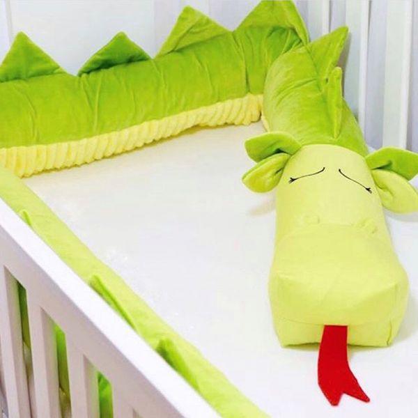 محافظ تخت کودک طرح اژدها