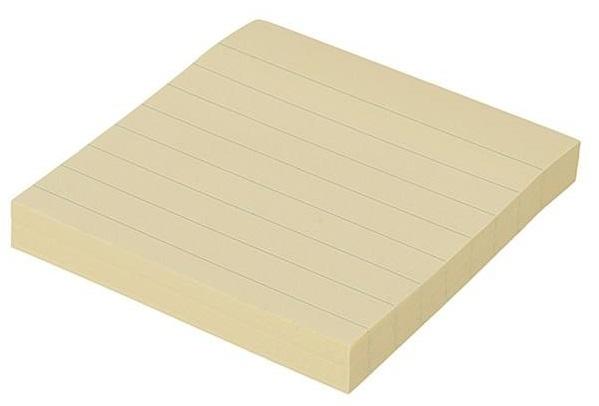 کاغذ یادداشت چسب دار دلی کد 39854 بسته 100 عددی