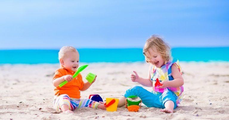 اسباب بازی های مناسب برای سرگرمی کودکان در ساحل