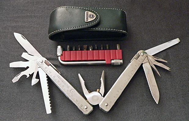 بهترین چاقوهای سوئیسی