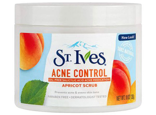 اسکراب لایه بردار پوست سینت ایوز مدل Acne Control