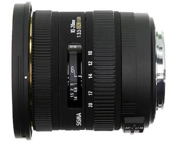 بهترین لنز اولترا واید برای دوربینهای نیکون:Sigma 10-20mm f/3.5 EX DC HSM ELD SLD