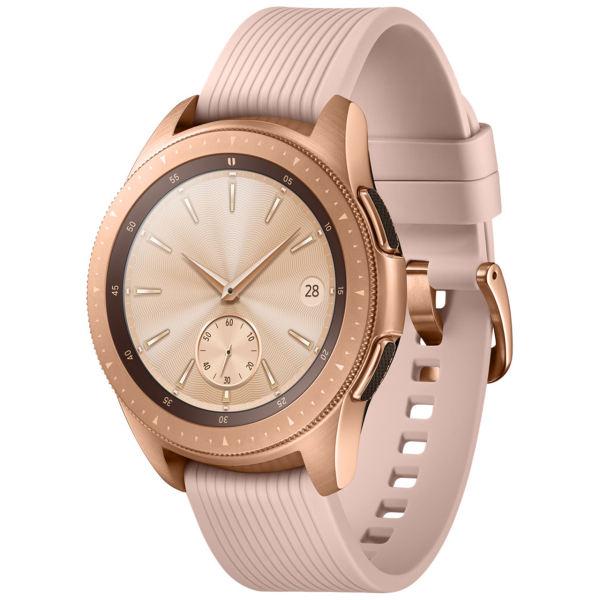 بهترین ساعت برای زنان:Samsung Galaxy Watch 42mm Rose Gold