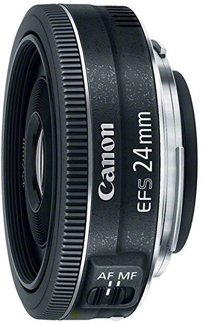 بهترین لنز اولترا واید برای بودجههای کم در دارندگان دوربینهای کانن:Canon EF-S 24mm f/2.8 STM