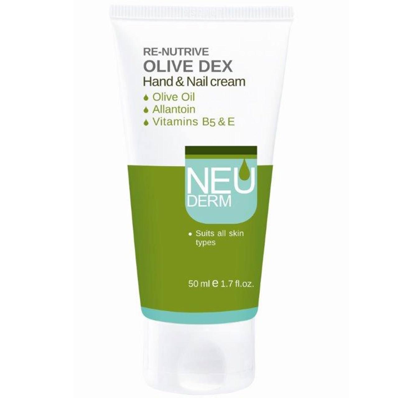 کرم دست و ناخن نئودرم مدل Olive Dex