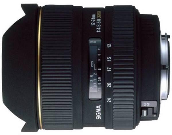 بهترین لنز اولترا وایدِ رده بالا:Sigma Art 12-24mm