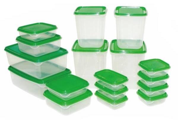 ست 34 پارچه ظروف نگهدارنده غذا مدل Gisi