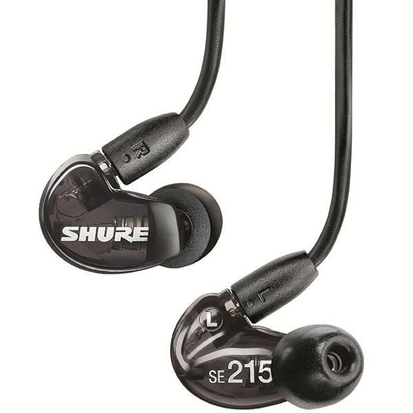 بهترین هدفون قرار گرفته درون گوش:Shure SE215-CL