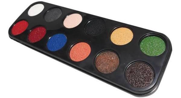 پالت سایه 12 رنگ آکوآ کالر مروان خیر مدل مات