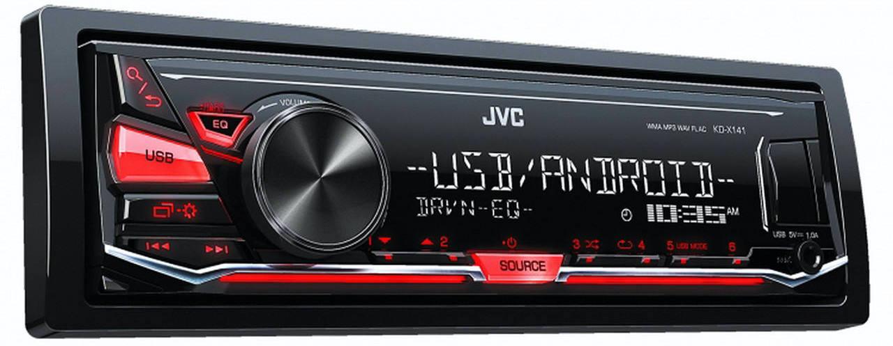 پخش کننده خودرو جی وی سی مدل KD-X141M