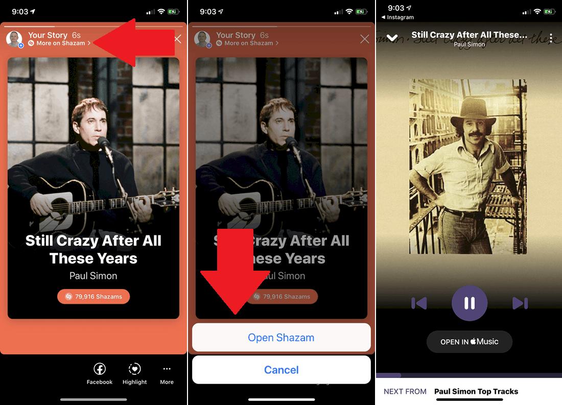 اضافه کردن موزیک به استوری از طریق اپ Spotify