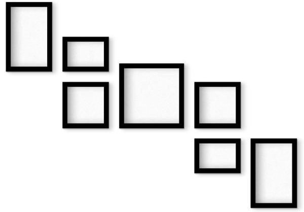 قاب عکس مدل 304 مجموعه هفت عددی
