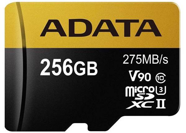 کارت حافظه microSDXC ای دیتا مدل Premier ONE V90 ظرفیت 256 گیگابایت