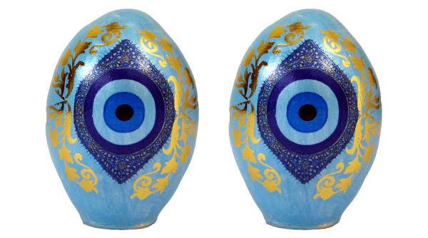 تخم مرغ دکوری سری نوروز هفت سین کد T113 مجموعه 2 عددی