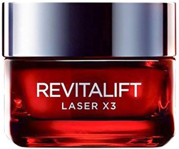 کرم ضد چروک روز لورآل مدل Revitalift Laser X3 حجم 50 میلی لیتر
