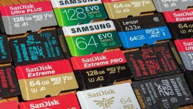 Photo of بهترین کارت های حافظه برای گوشیهای اندرویدی